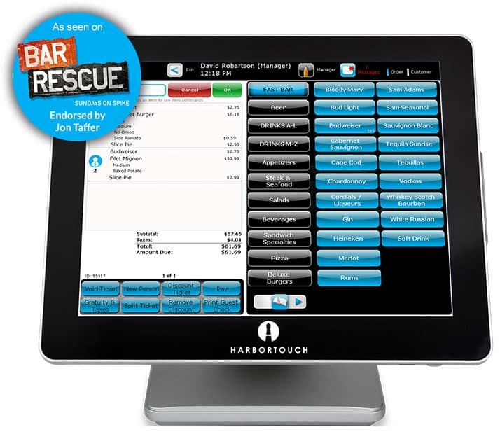 harbortouch pos was used in bar resuce
