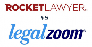 LegalZoom vs. Rocket Lawyer