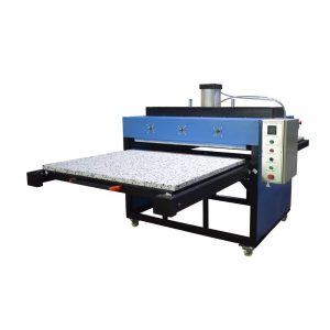 5EPYQBOIG Large Format Dual Platen Pneumatic Heat Press Machine
