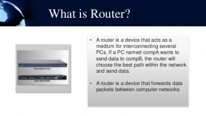 what is business router